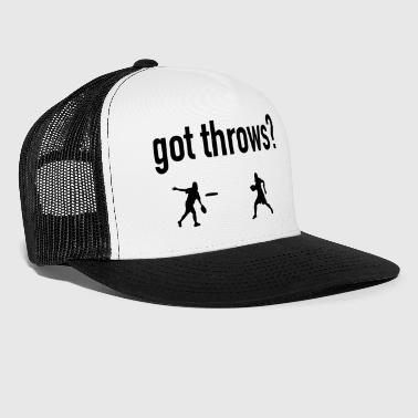 Ultimate Frisbee Hat Got Throws? - Trucker Cap