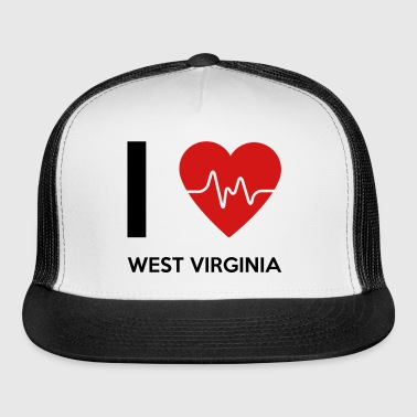 I Love West Virginia - Trucker Cap