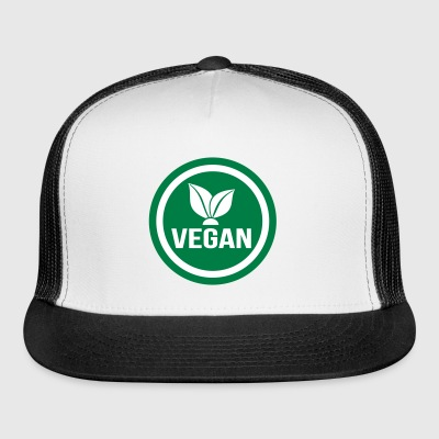 vegan food sign - Trucker Cap