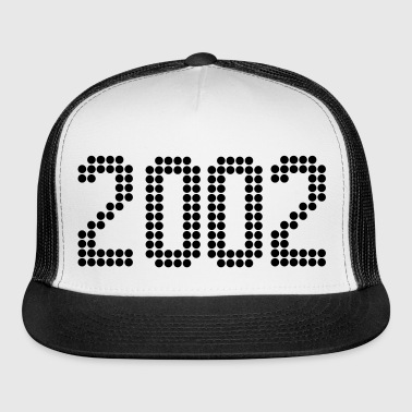 2002, Numbers, Year, Year Of Birth - Trucker Cap