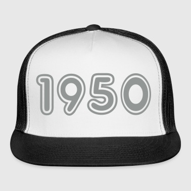 1950, Numbers, Year, Year Of Birth - Trucker Cap