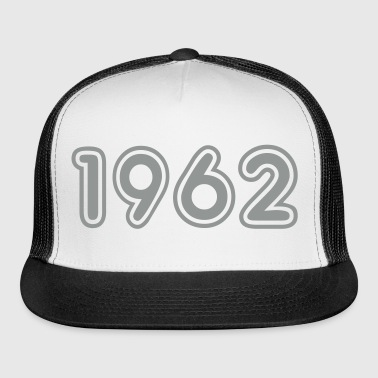 1962, Numbers, Year, Year Of Birth - Trucker Cap