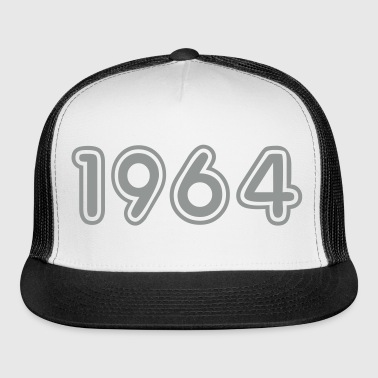 1964, Numbers, Year, Year Of Birth - Trucker Cap
