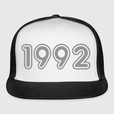 1992, Numbers, Year, Year Of Birth - Trucker Cap