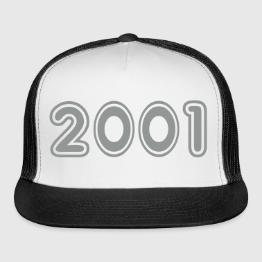 2001, Numbers, Year, Year Of Birth - Trucker Cap