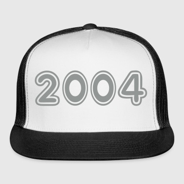 2004, Numbers, Year, Year Of Birth - Trucker Cap