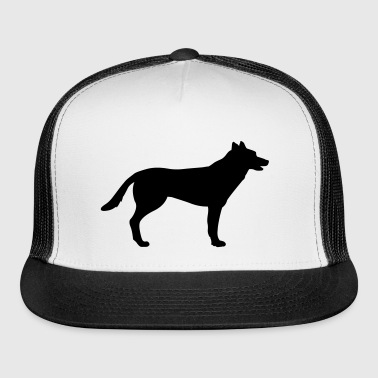 Dog, German Shepherd - Trucker Cap