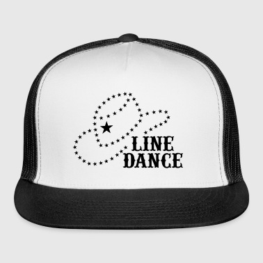 LINE DANCE STAR HAT - Trucker Cap