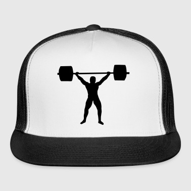 weight lifting - Trucker Cap