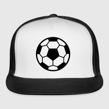 Football, Soccer, Ball - Trucker Cap