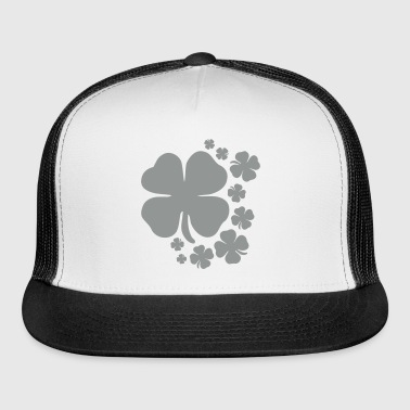 clover st patrick's day lucky charm irish - Trucker Cap