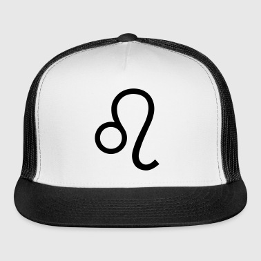 Leo zodiac sign and horoscope symbol - Trucker Cap