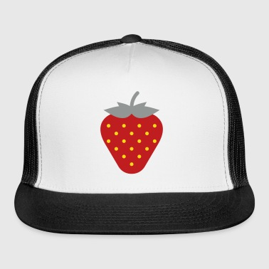 Strawberry / Fraise / Fresa / Erdbeere - Trucker Cap