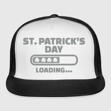 St. Patrick's day loading - Trucker Cap