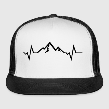 Mountain - Heartbeat - Trucker Cap