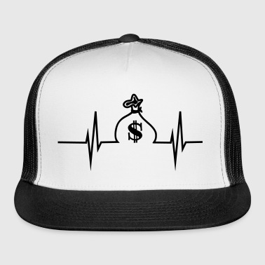 Money Heartbeat - Trucker Cap