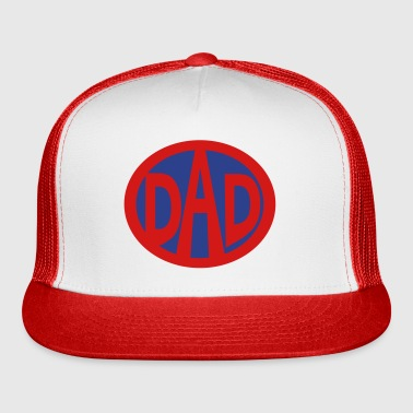 Super, Hero, Super hero, Super Dad - Trucker Cap