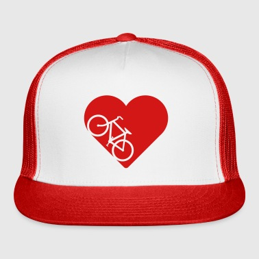 Bike in heart - Trucker Cap