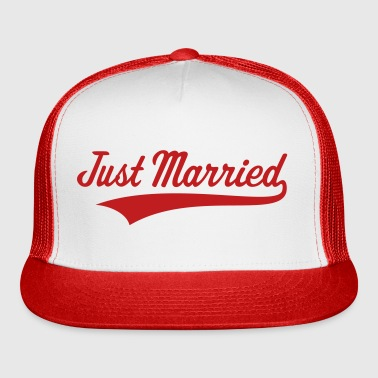 Just Married (Marriage / Wedding) - Trucker Cap
