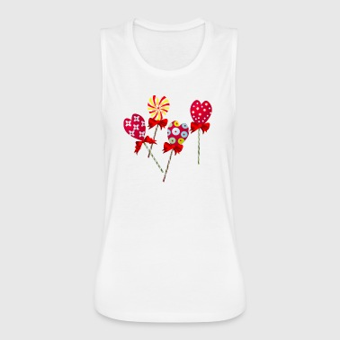 Candy - Women's Flowy Muscle Tank by Bella