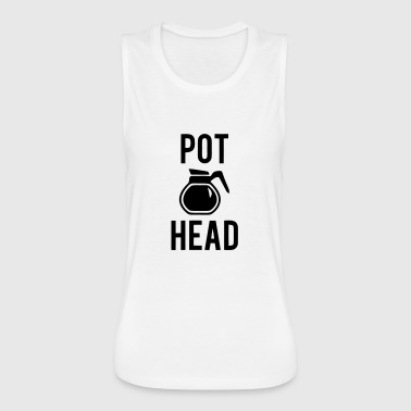 POT HEAD - Women's Flowy Muscle Tank by Bella