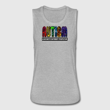 BEST Autism Design - Women's Flowy Muscle Tank by Bella