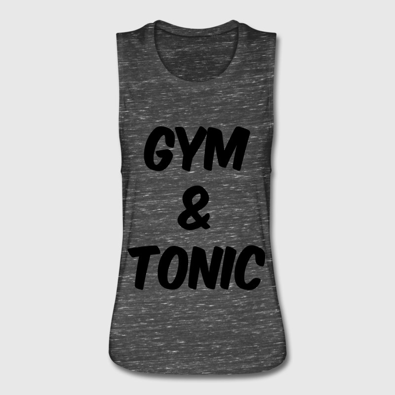 Gym and Tonic - Women's Flowy Muscle Tank by Bella