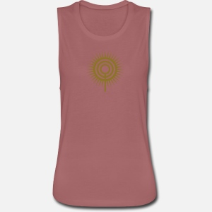 Women's Flowy Muscle Tank Top