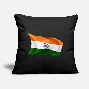 "India India - Throw Pillow Cover 18"" x 18"""
