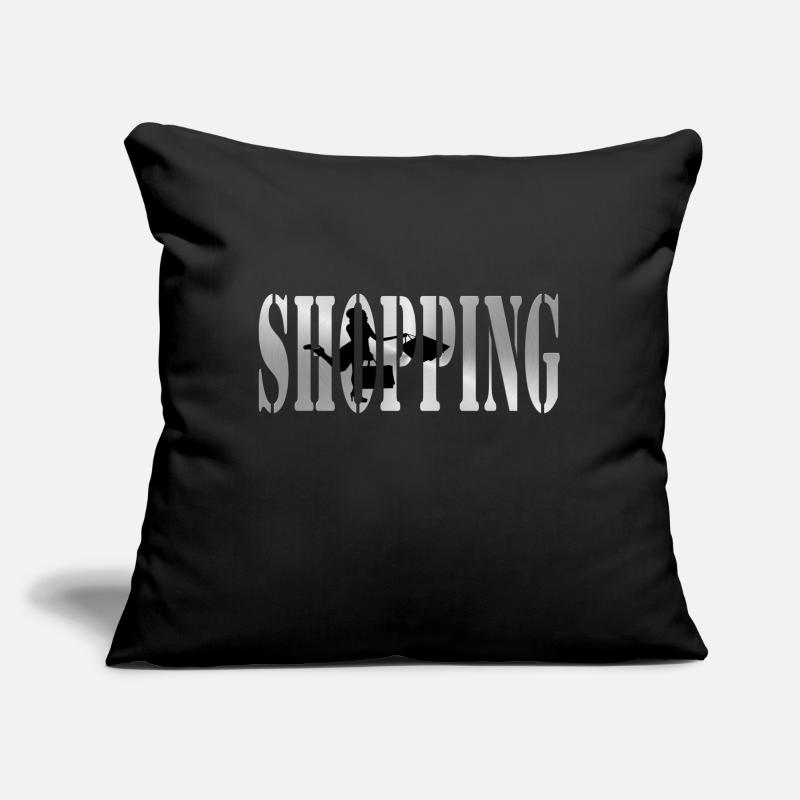 Shop Pillow Cases - Shopping - Cushion Cover black