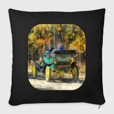 Stanley Steamer Automobile - Throw Pillow Cover