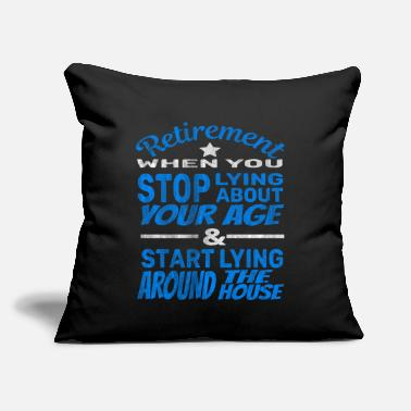 Age Retirement Age - Throw Pillow Cover