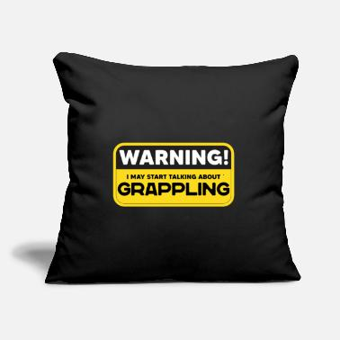 "Grappling Grappling - Throw Pillow Cover 18"" x 18"""