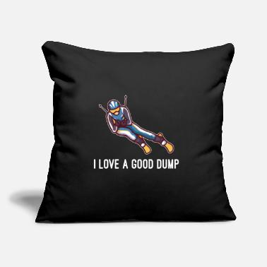 "Freestyle I Love A Good Dump - Throw Pillow Cover 18"" x 18"""