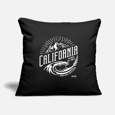 "Gent Gents & Bros - California - Throw Pillow Cover 18"" x 18"""