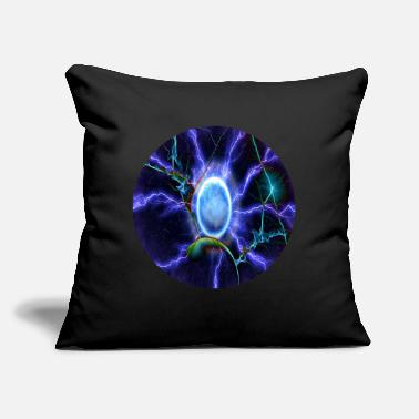 "Electricity electricity - Throw Pillow Cover 18"" x 18"""