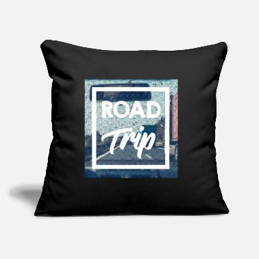 "Road Trip Road Trip - Throw Pillow Cover 18"" x 18"""