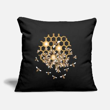 "Honeycomb Honeycomb - Throw Pillow Cover 18"" x 18"""