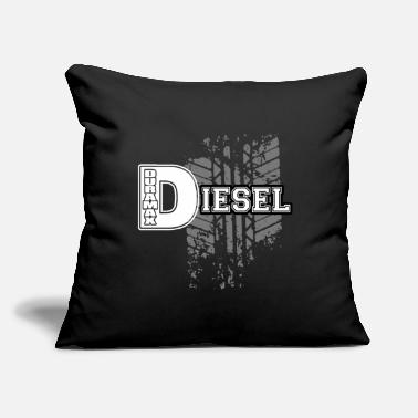 "Diesel Funny Diesel - Throw Pillow Cover 18"" x 18"""