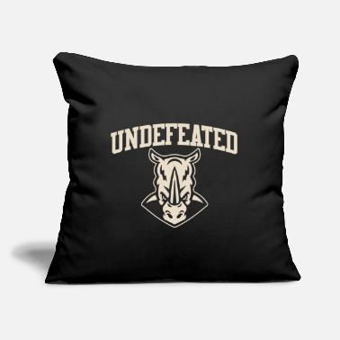 "Undefeated Undefeated Rhinos - Throw Pillow Cover 18"" x 18"""