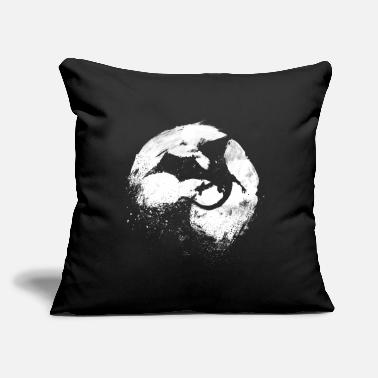 "Dragon - Throw Pillow Cover 18"" x 18"""