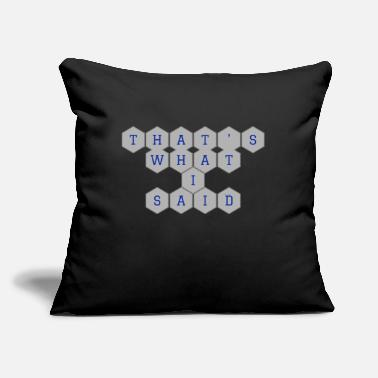 "My Post 9 - Throw Pillow Cover 18"" x 18"""