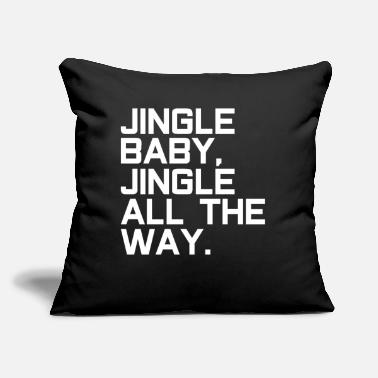 "Santa Claus Jingle Santa Claus Santa Claus - Throw Pillow Cover 18"" x 18"""