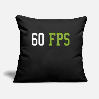 "Fps Gaming FPS graphics card - Throw Pillow Cover 18"" x 18"""