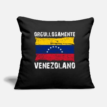 "Venezolanos Orgullosamente Venezolano funny - Throw Pillow Cover 18"" x 18"""