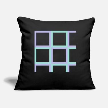 Square squares - Throw Pillow Cover