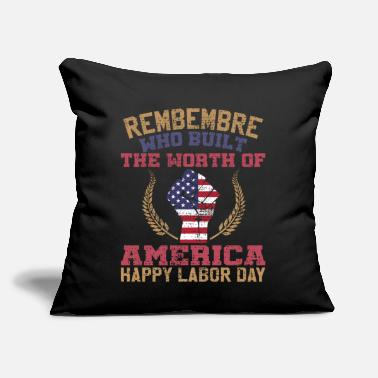 Labor LABOR DAY - Throw Pillow Cover
