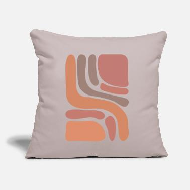 "Form to form - Throw Pillow Cover 18"" x 18"""