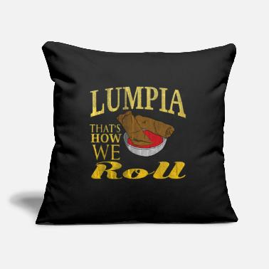 "Cuisine Philippines Cuisine - Throw Pillow Cover 18"" x 18"""