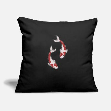 "Koi Koi Koi Koi - Throw Pillow Cover 18"" x 18"""